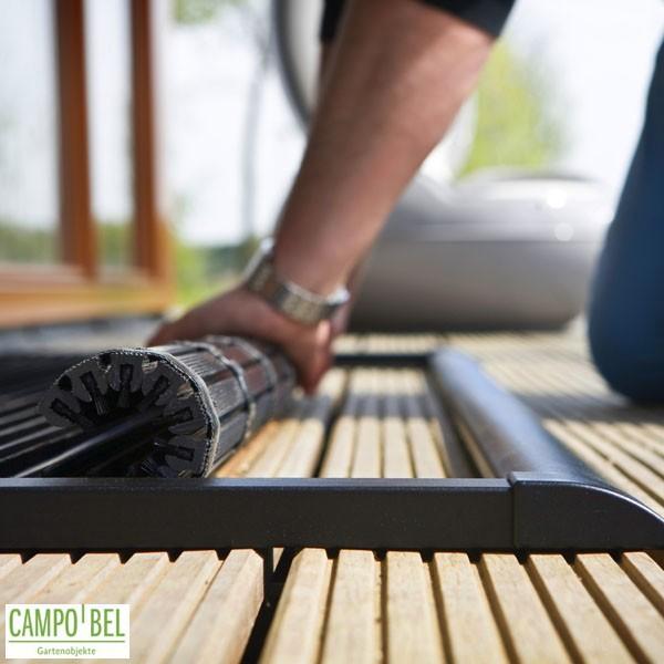 Brandneu Fußmatte anthrazit in 2 Größen - Campobel BV78