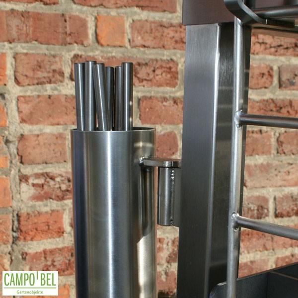 grill in 2 gr en aus edelstahl campobel. Black Bedroom Furniture Sets. Home Design Ideas